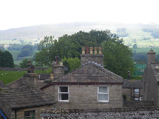 Hawes, UK: Roofs and Chimney Pots (Seen from window)
