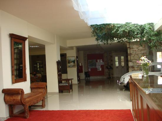 Kriopigi Beach Hotel: Reception