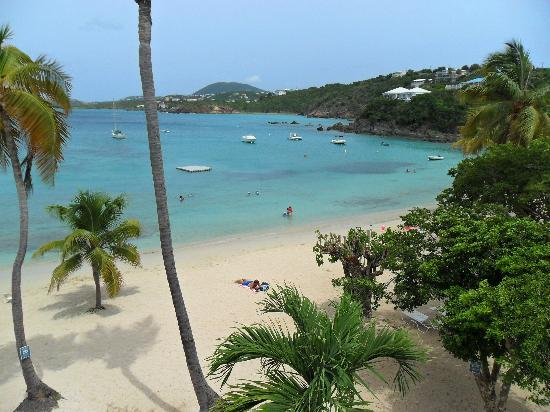 Benner, St. Thomas: View from our balcony