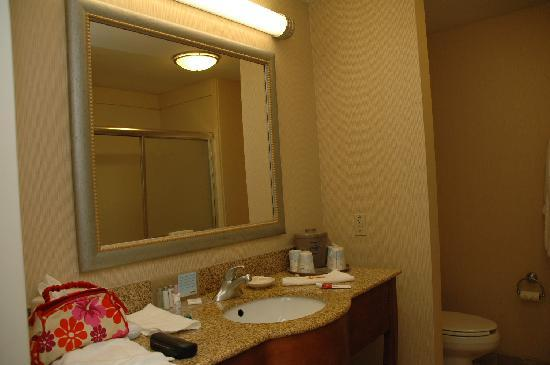 Hampton Inn Hillsboro: Bath