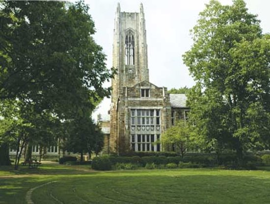 Scarritt-Bennett Center: The tower at Scarritt-Bennett