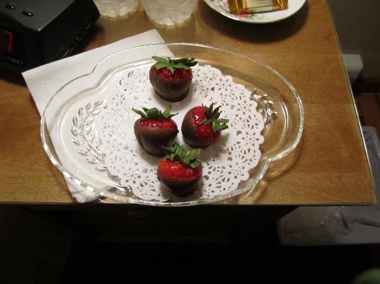 Acorn Hollow Bed and Breakfast: Another thoughtful touch from Mary Ann that made our stay so special