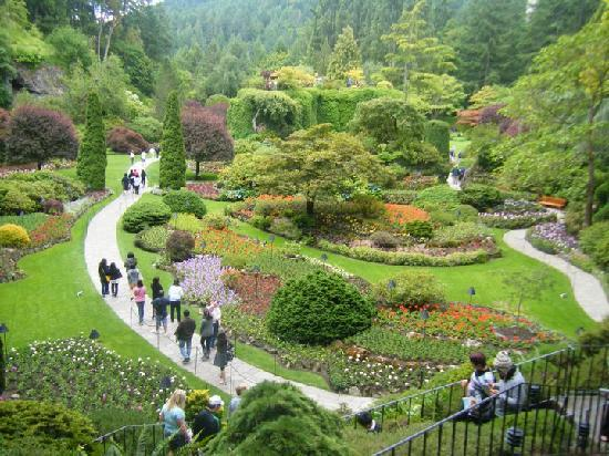 One Of My Favorite Scenes Picture Of Butchart Gardens Central Saanich Tripadvisor