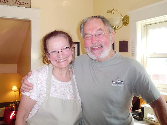 Home Port Inn: Suzannah and Dave Gale