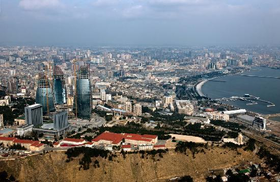 Azerbaijan: Top View