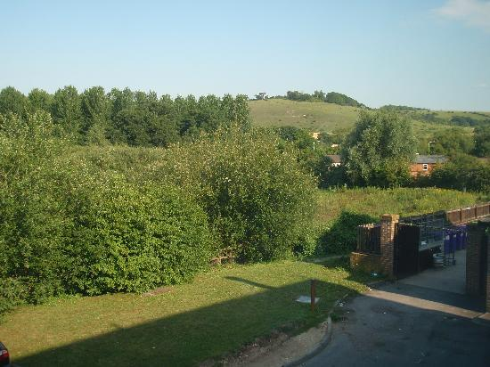 Premier Inn Salisbury: View from my room #1