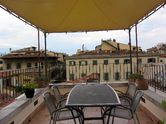 Il Bargello B&B: Rooftop Terrace