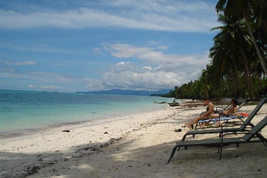 Anda, Philippines: the beach