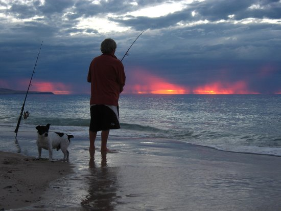 Carrickalinga Australia  city photos gallery : Carrickalinga, Australia: locals fishing