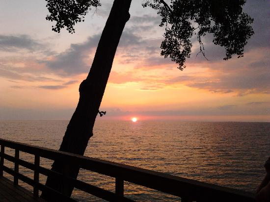 , : Sunset over Lake Erie-July 2011