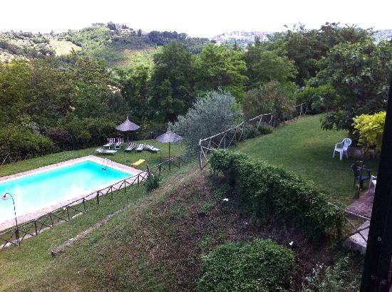 Agriturismo La Volpe e l'Uva: the view from above