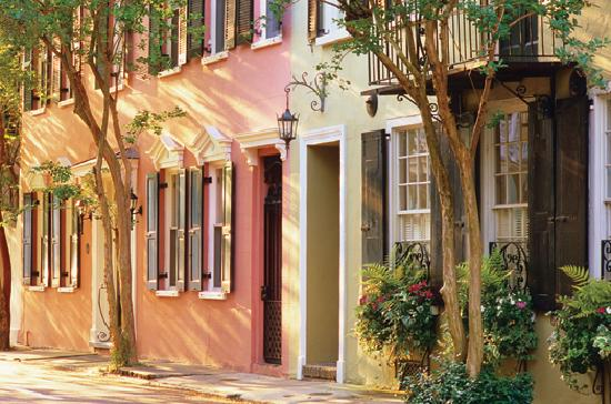 , : Tradd Street, Charleston, SC