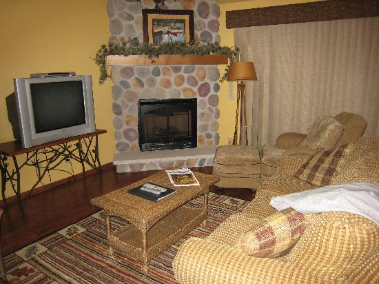 Wild Eagle Lodge: Livingroom
