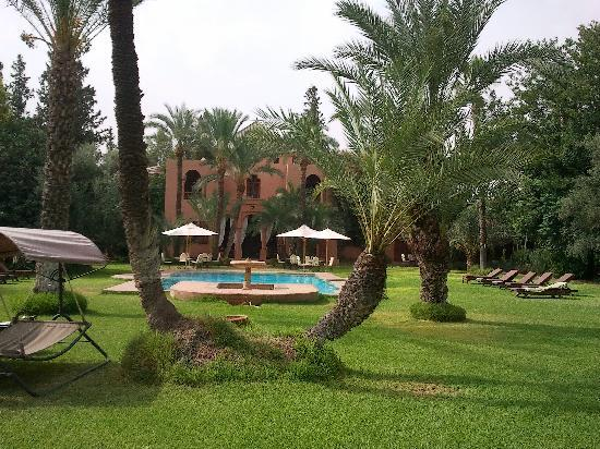 Dar Ayniwen Villa Hotel: Jardins et piscine magnifique