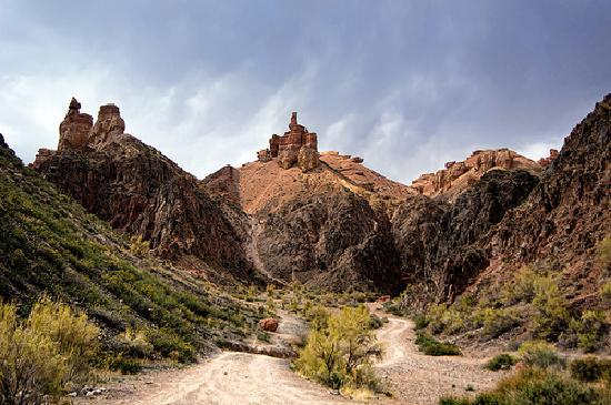 Kazajstn: Charyn Canyon, Kazakhstan