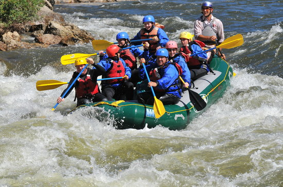 Kokopelli rafting adventures day trips salida for Water salida trasera