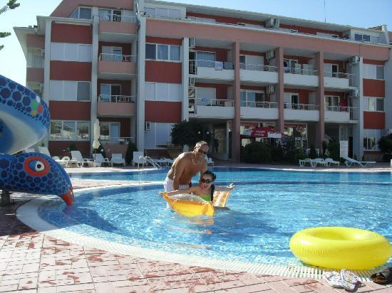 The childrens pool area picture of sunny fort apartments - Sunny beach pools ...
