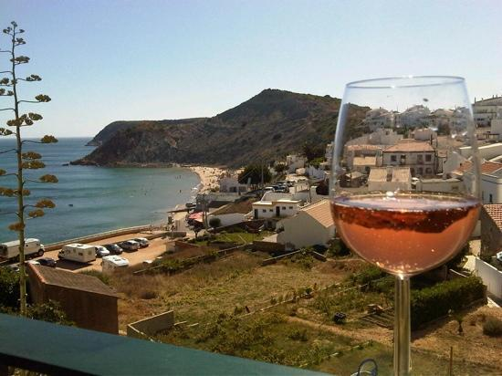 Burgau, Portugal: the view from the apartment