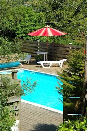 Nanplough Country House & Cottages: Heated Swimming Pool