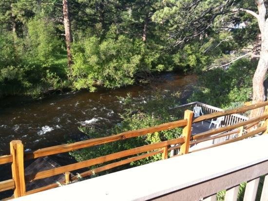 Beaver Brook on the River: View of the River from our deck