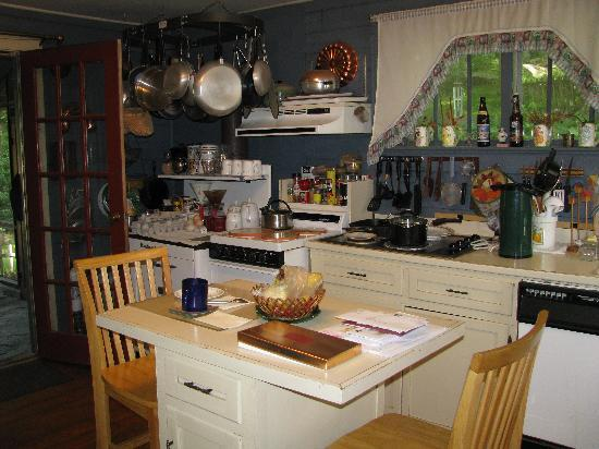 Ox-Ford Farm Bed & Breakfast Inn: kitchen