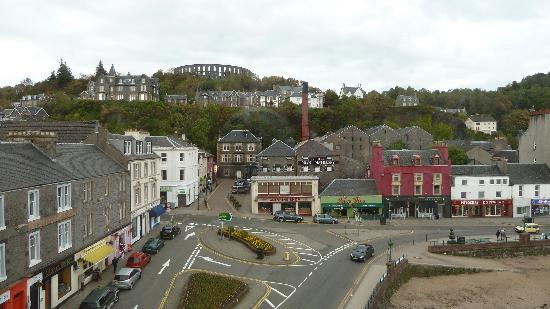 View From The Room Oban Destillery Picture Of Columba Hotel Oban Tripadvisor