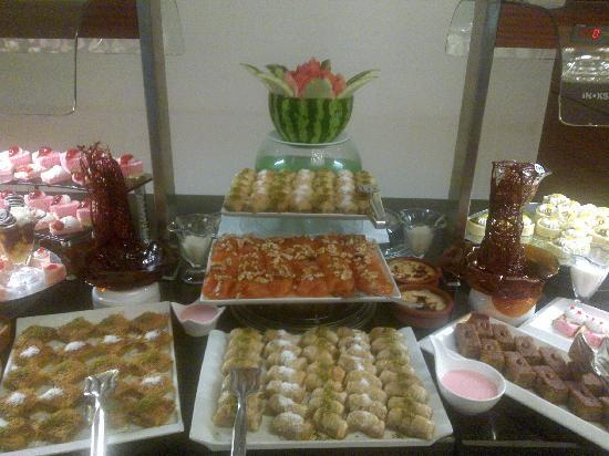 Crowne Plaza Hotel Antalya: They make your mouth water