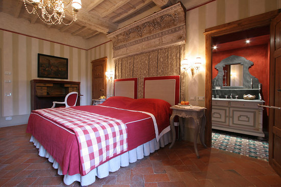 Villa Bordoni: Deluxe double room