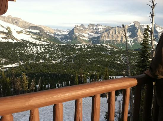 Granite Park Chalet: Looking south towards Logan's pass.