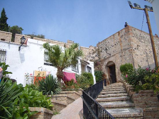 Salobrena, Spain: entrance to the castle