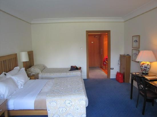 Dundalk, Irland: our room