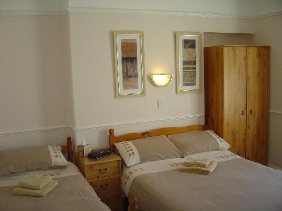Pencrebar Guest House: TWIN ROOM