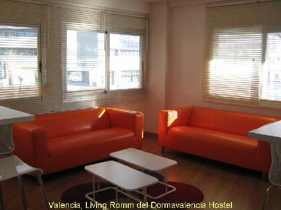 Dormavalencia Hostel: area comune