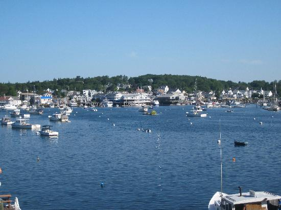 Boothbay Harbor, ME: perfect view of the harbor