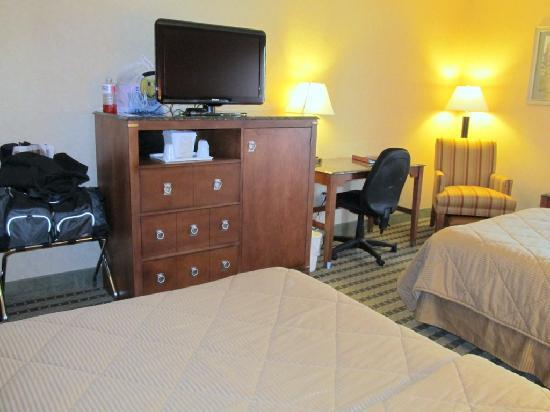 Comfort Inn Troutville: Another view of the room