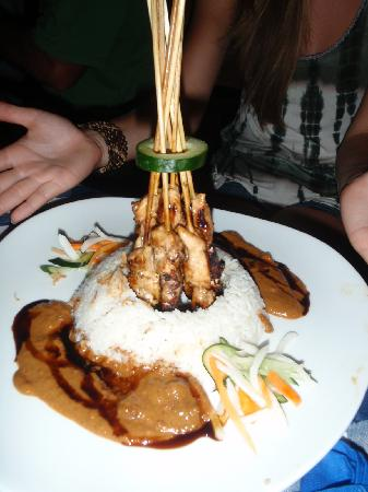 The Patra Bali Resort &amp; Villas: Yummy sate
