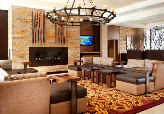 The new lobby at the Napa Valley Marriott Hotel & Spa