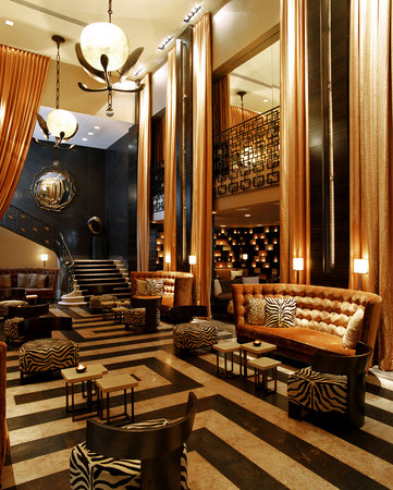 Empire Hotel Lobby
