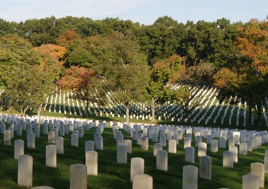 Arlington National Cemetery  Picture Of Tiber Creek Private Tours Of DC Was