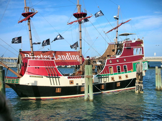 Port Isabel, TX: Pirate Ship