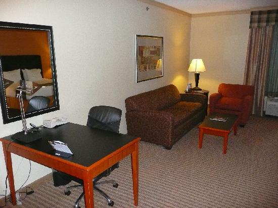 Holiday Inn Express Hotel & Suites-DFW North: Work desk