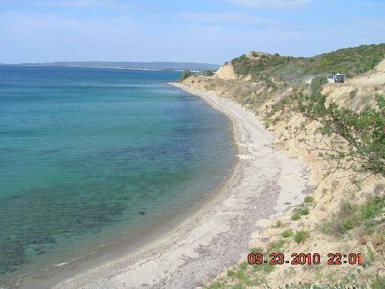 NZ and Oz graves at Anzac cove - Picture of Gallipoli ...
