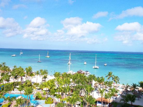 Hyatt Regency Aruba Resort and Casino: view from our room