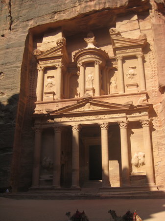 khaznah facade bild fr n petra wadi musa ma 39 in governorate tripadvisor. Black Bedroom Furniture Sets. Home Design Ideas