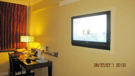 Tv in bedroom Picture of Kapok Hotel Port of Spain