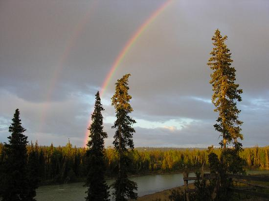 Gallery Lodge: Double Rainbow