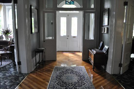 The Highland Manor: The front door beckons