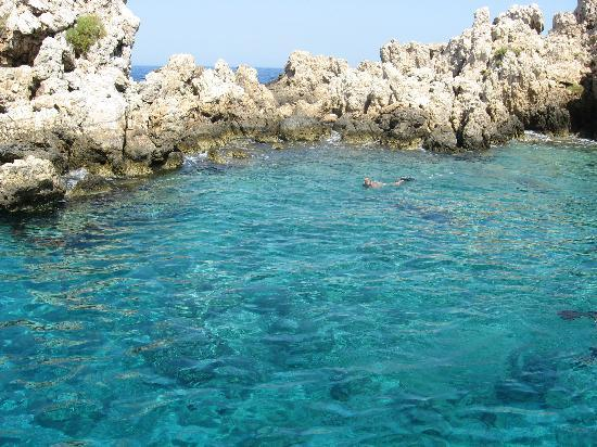 Parikia, Greece: One of &quot;Captain Ben&#39;s Cruise&quot; swim spots