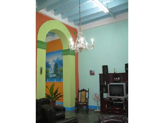 Casa Colonial 1715: Livingrooom