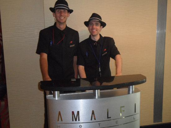 Amalfi Hotel Chicago: Great Staff!!!!